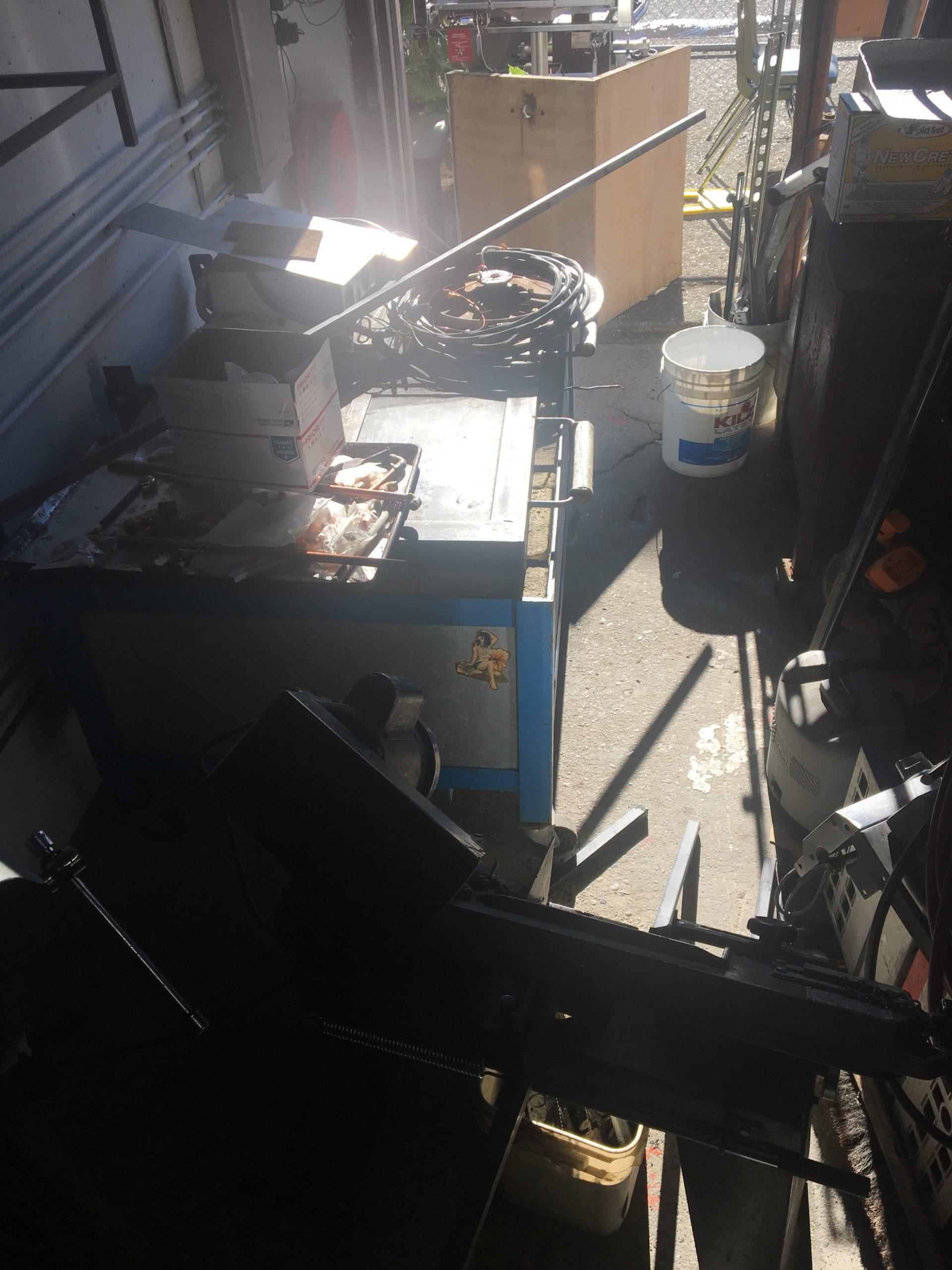 Sunlight in my Shop