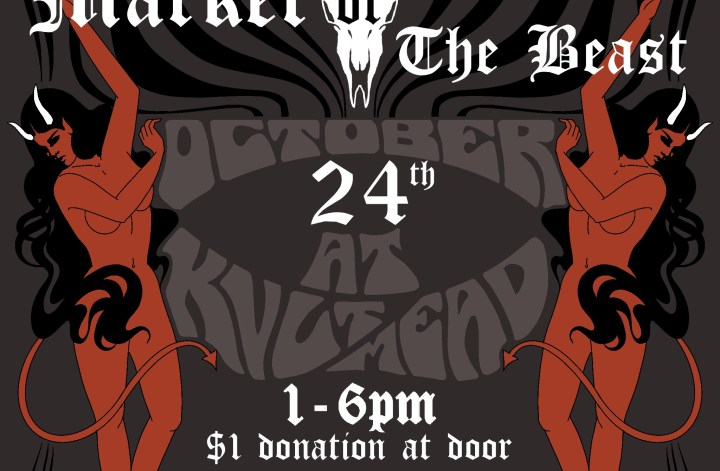 Flier for Market of the Beast