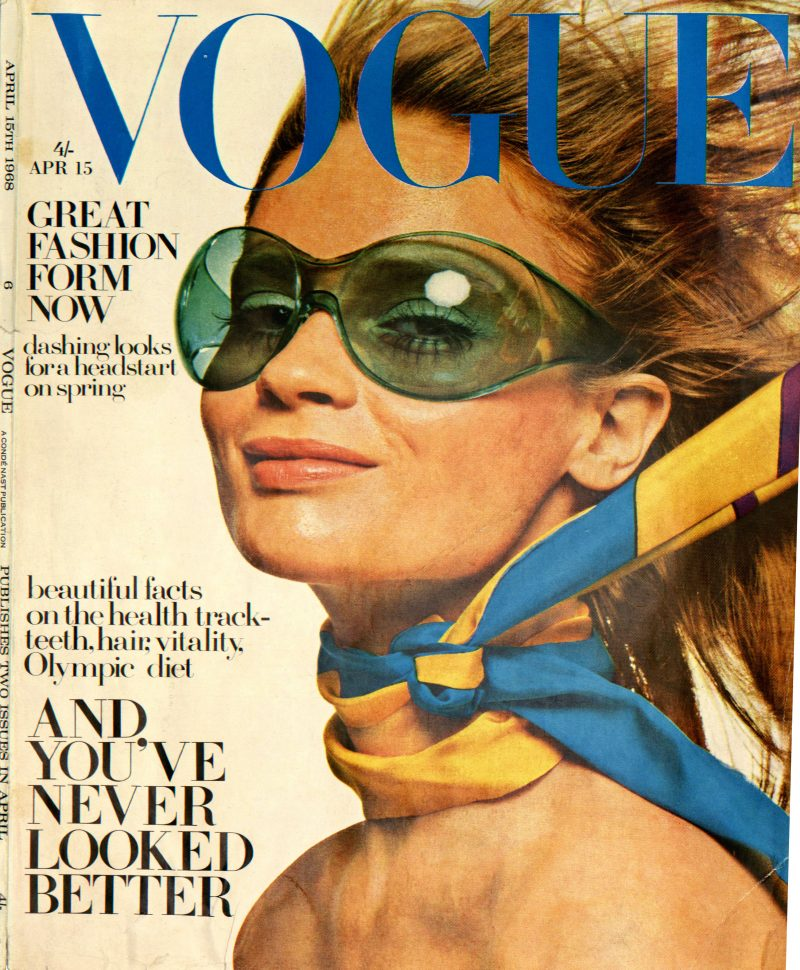 The first ever injection moulded frame to hit the fashion pages of vogue!