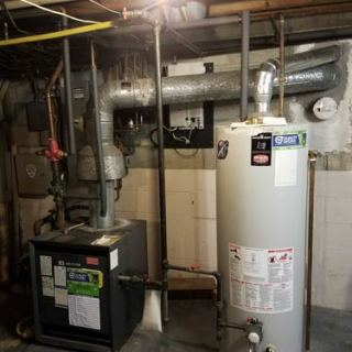 Old Hot Water Unit