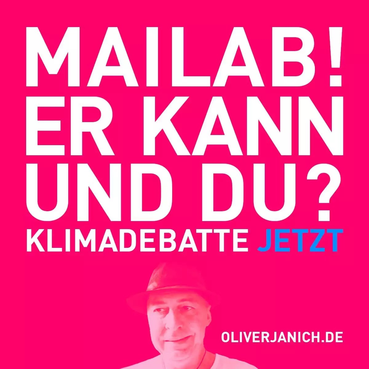 #OliWillReden Klimadebatte Oliver Janich Klimawandel #Rezo maiLab Mai Thi Nguyen-Kim Terra X Lesch & Co