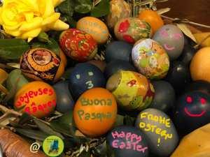 Cartolina auguri di buona Pasqua