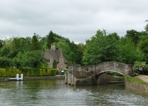 Iffley Lock and River Thames