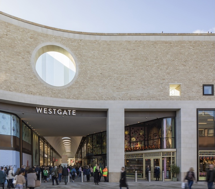 New Westgate Shopping Centre in Oxford