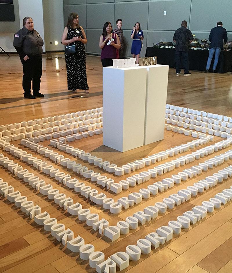 Inauguración de la exposición Texas Vignette 2019 en The Women's Museum