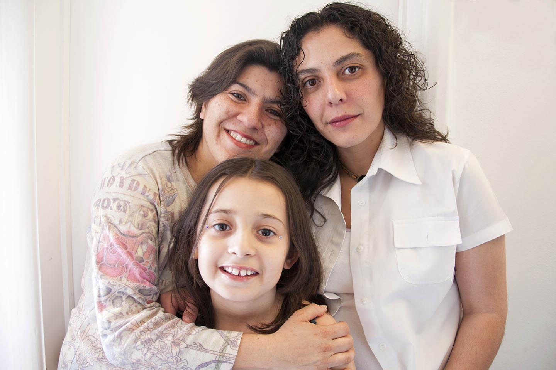 Retrato de una familia lésbica