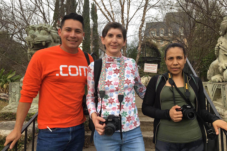 Taller de fotografia en el Dragon Park Garden