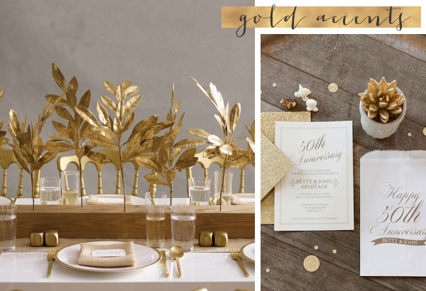 6 Important Golden Wedding Anniversary Party Planning Tips