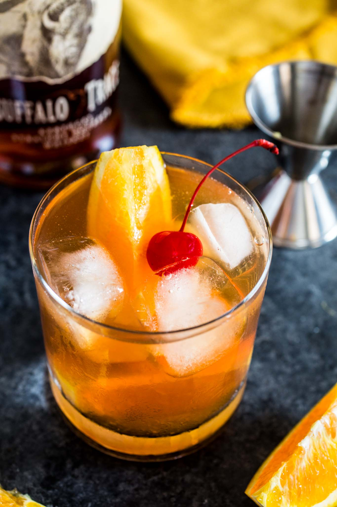 Bourbon Old Fashioned   Olivia s Cuisine Bourbon Old Fashioned   www oliviascuisine com   A classic bourbon cocktail  made with
