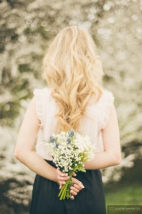 composition fleurs mariage