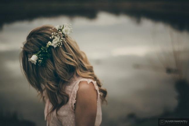 couronne fleurs photo