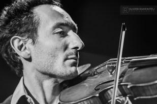 photo violoniste concert