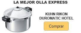 comprar mejor olla express en Amazon