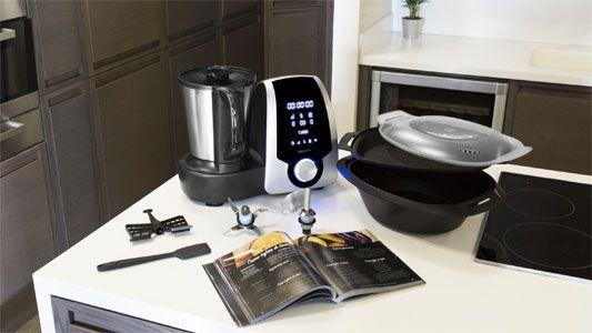 robot de cocina Mambo - elementos