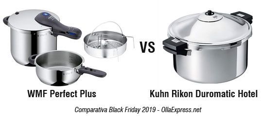WMF Perfect Plus VS Kuhn Rikon Duromatic Hotel - Black Friday Cyber Monday 2019
