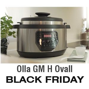Olla programable GM H Ovall de Cecotec - BLACK FRIDAY 2019