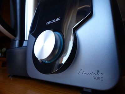 Cuerpo principal del Mambo 7090 con panel de control: rueda y pantalla digital táctil