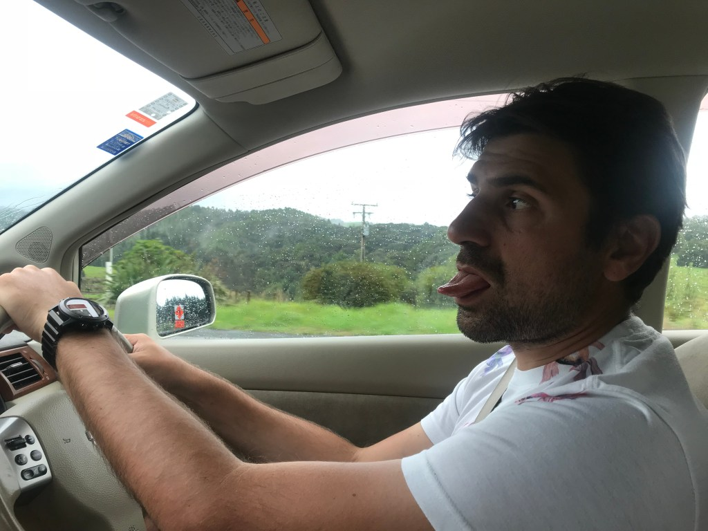 New Zealand road trip begins
