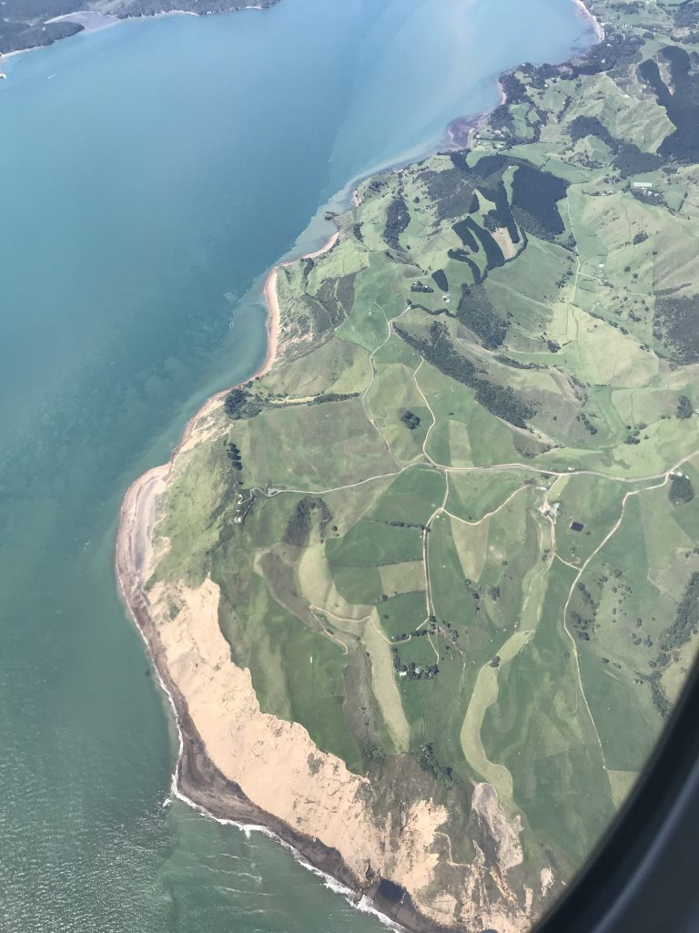 Goodbye New Zealand from above