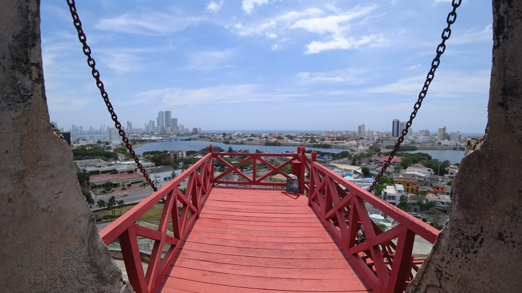 View from Castillo de San Felipe - Cartagena