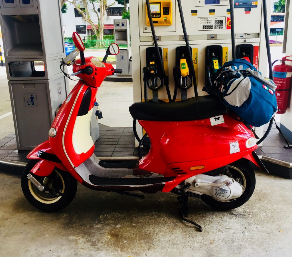 Self Drive Vespa to Tioman Island