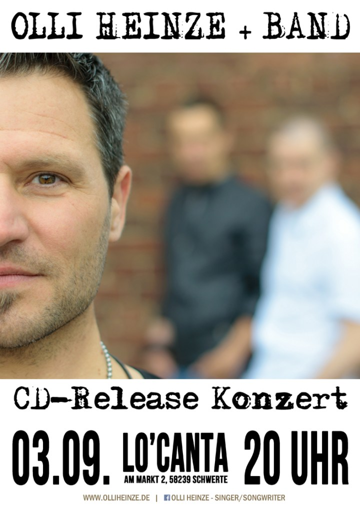 CD-Release Konzert Olli Heinze + Band