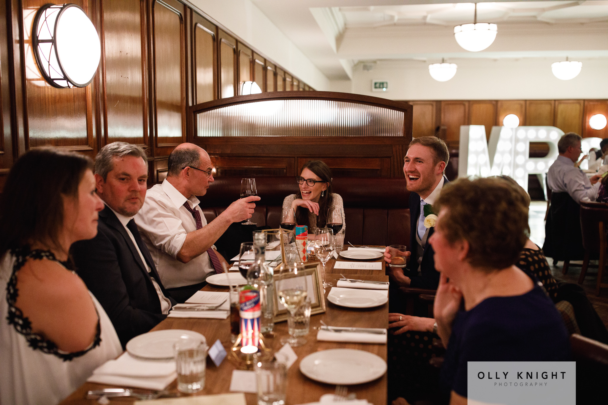 Mike & Caroline's Wedding at Hawksmoor Restaurant in London