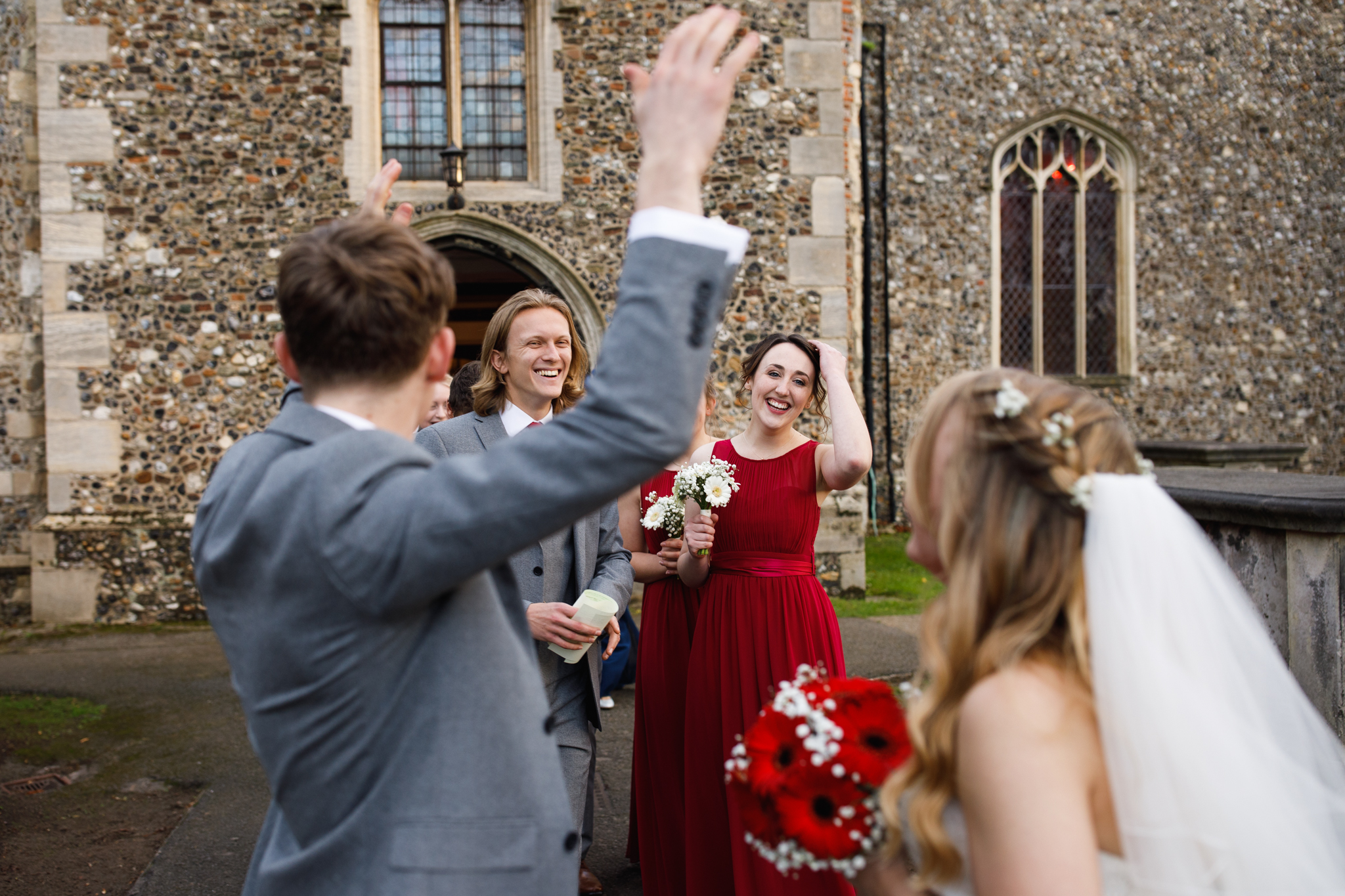 Jordan & Bekka's Wedding at Haughley Park Barn