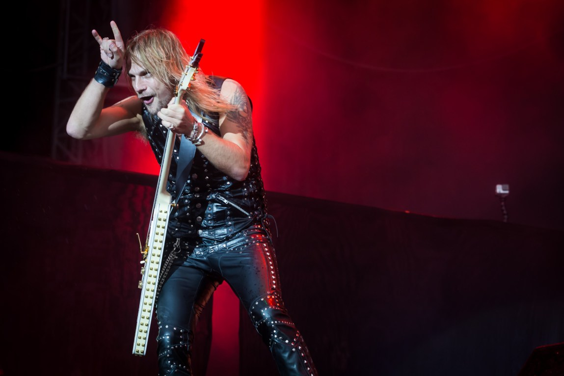 Judas Priest at Download, Britain,12th June 2015
