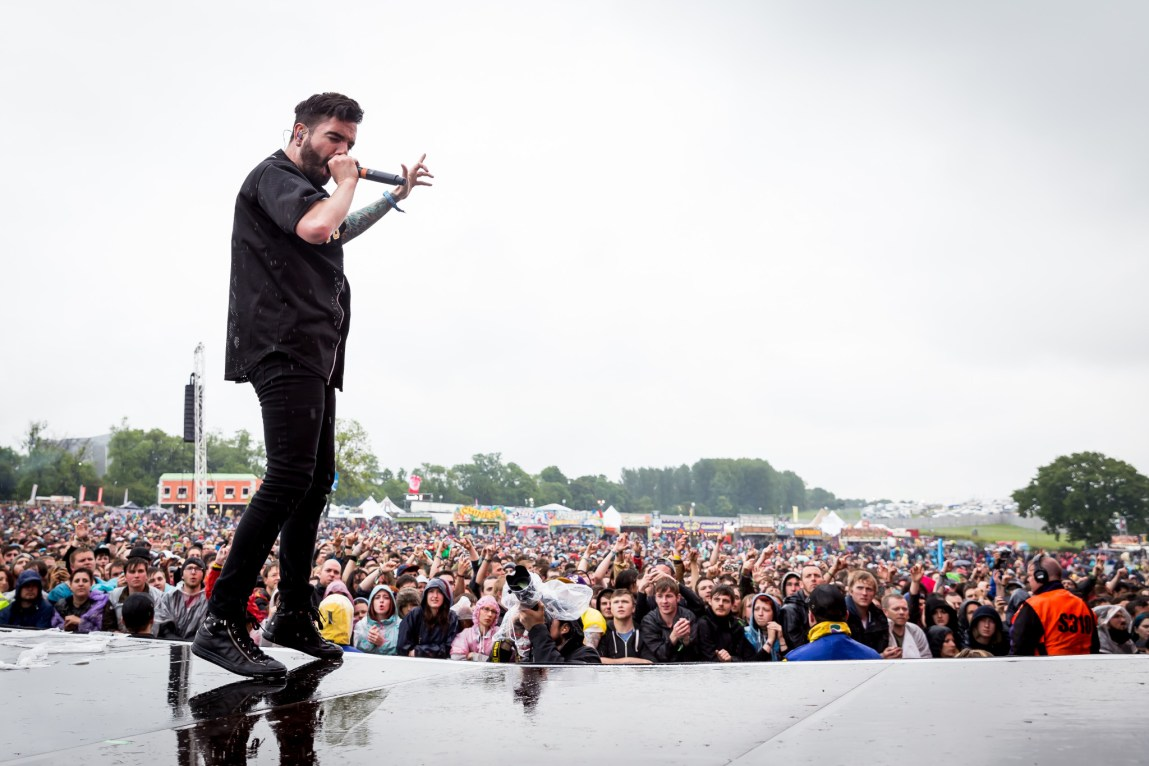 A Day To Remember at Download Festival, Britain,13th June 2015