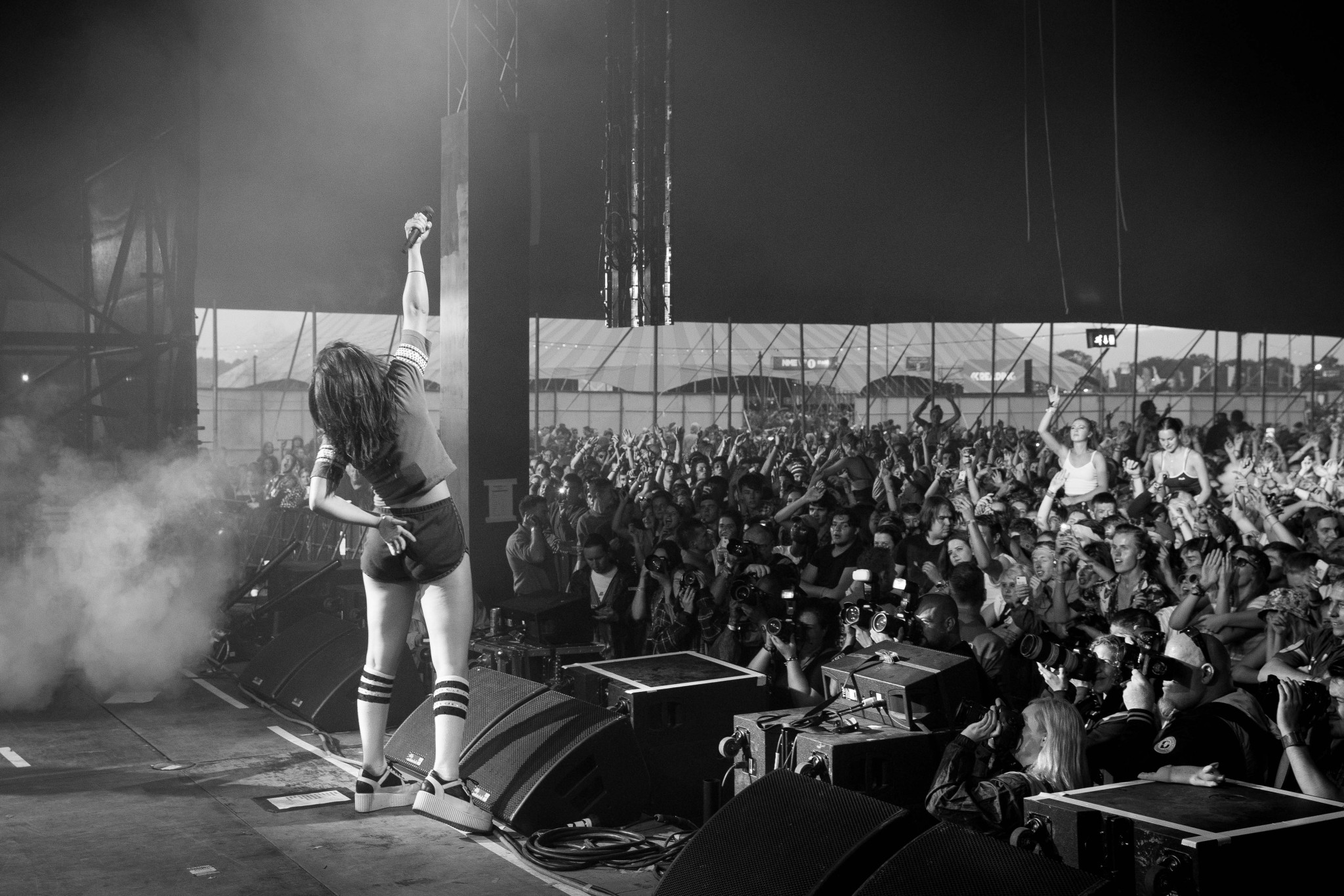 Charlie XCX at Reading Festival, Berkshire, Britain - 29 August 2015