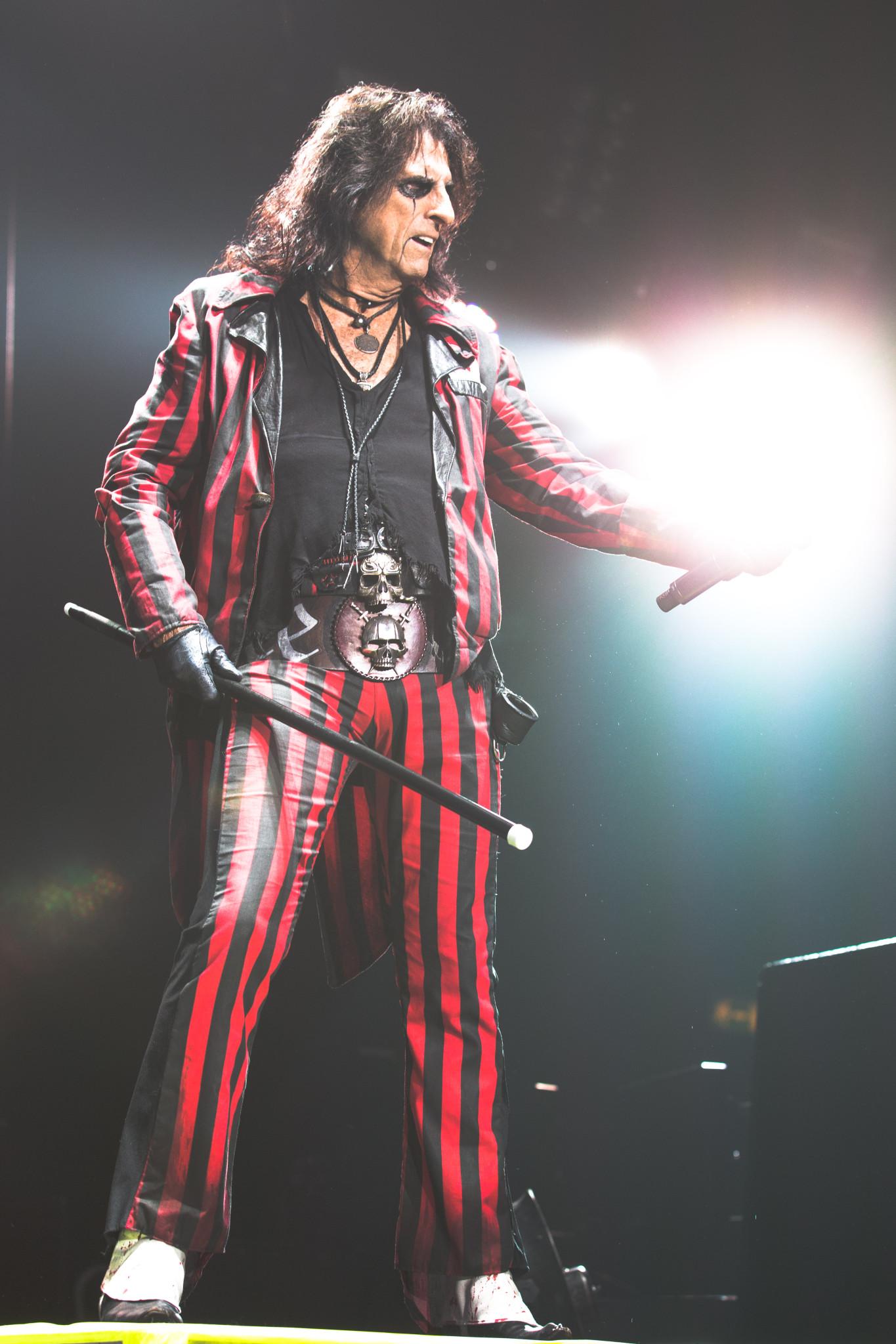 Alice Cooper live at Genting Arena, Birmingham, Britain - 4 Nov 2015