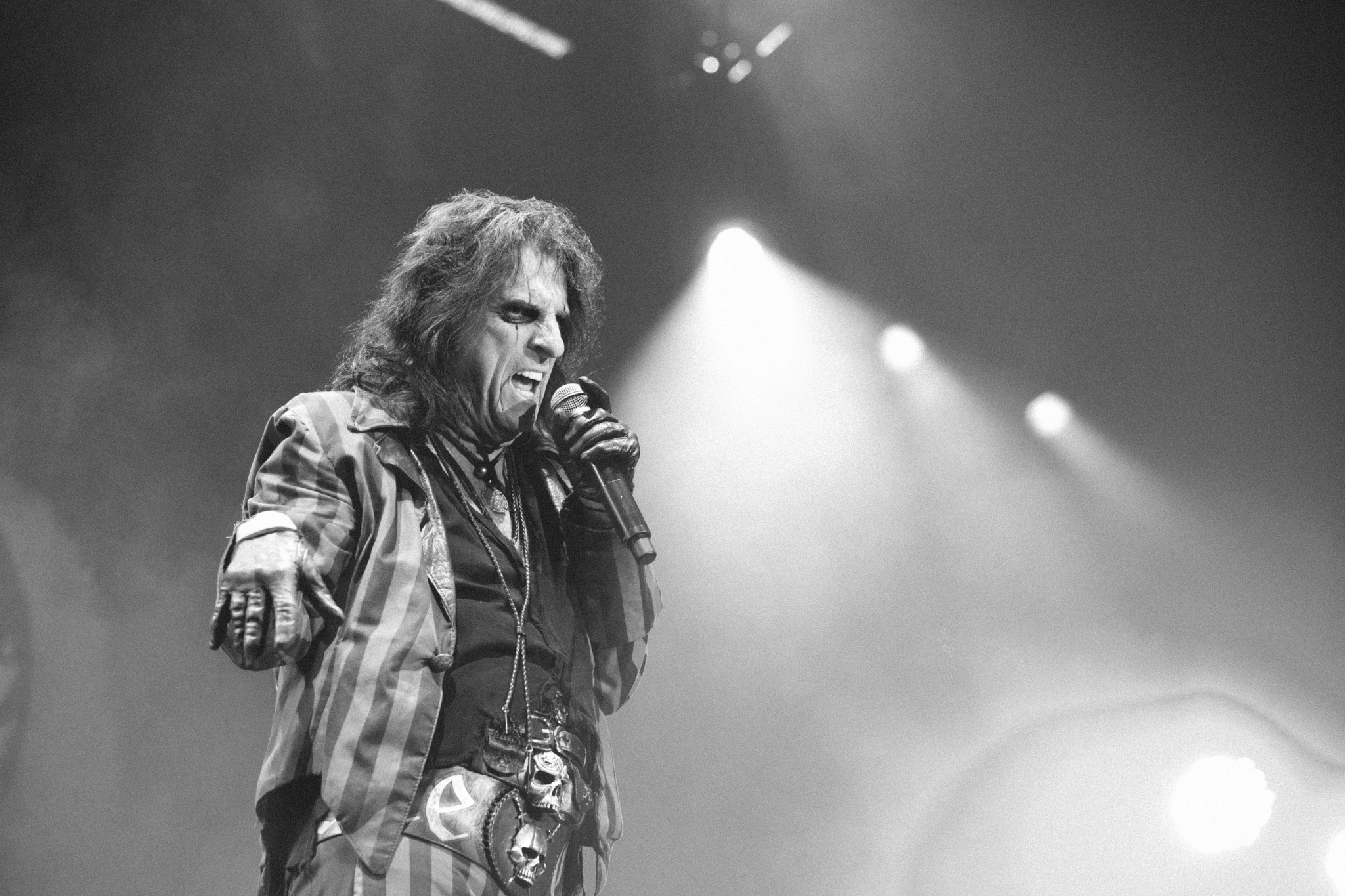 Alice Cooper live at Genting Arena, Birmingham, Britain - 4 Nov 2015
