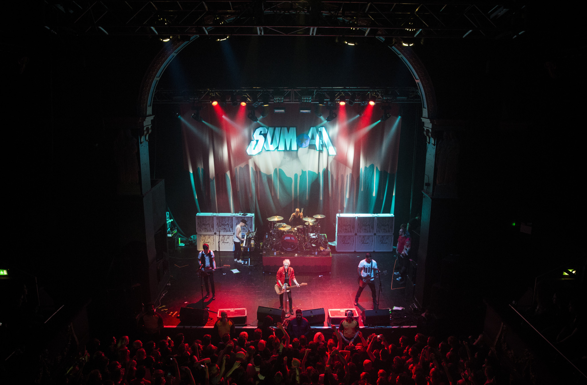 Sum 41 Photos Live in Birmingham 2016
