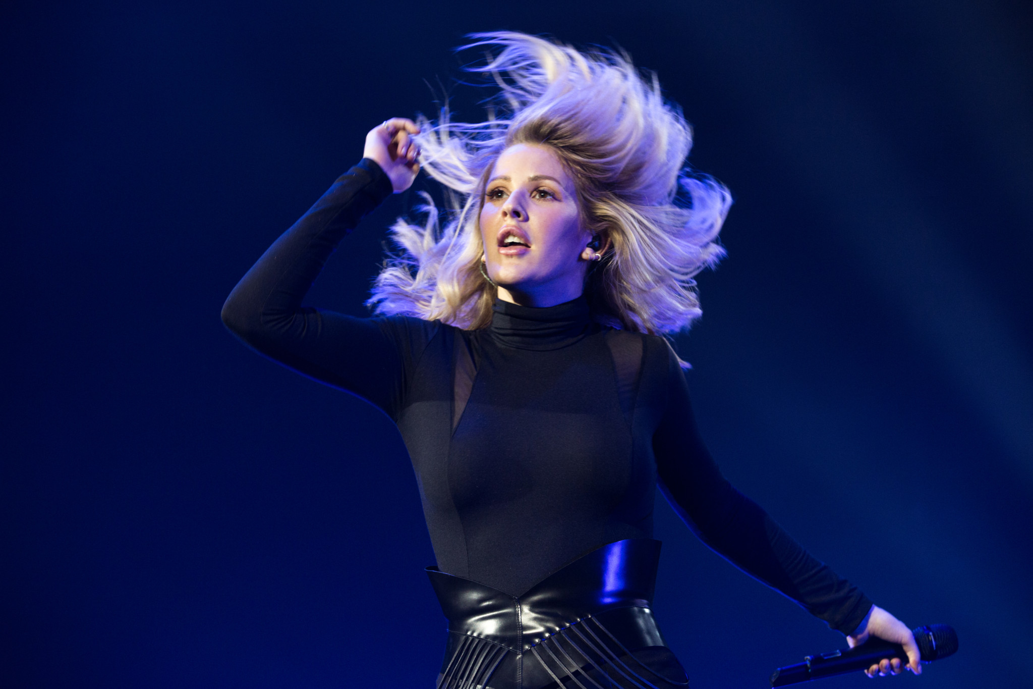Ellie Goulding in concert at Motorpoint Arena, Nottingham, Britain - 13 March 2016