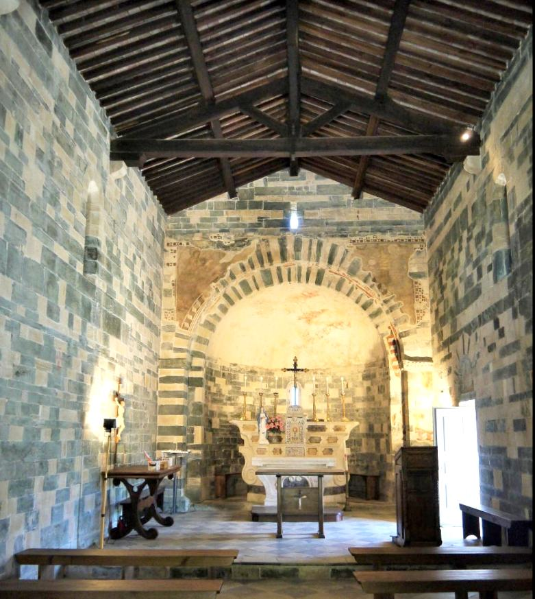 murato eglise interieur olmuccio corse
