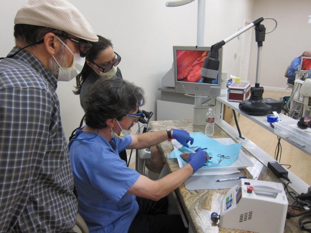 Dr Lomke Hands-on Laser Course 3