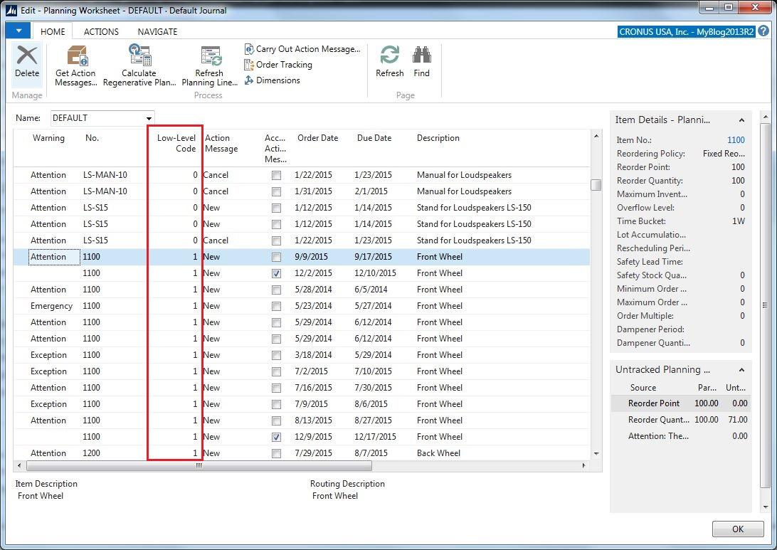 Planning Worksheet Dynamics Nav Olof Simren Microsoft Dynamics Nav Amp 365 Business Central Blog