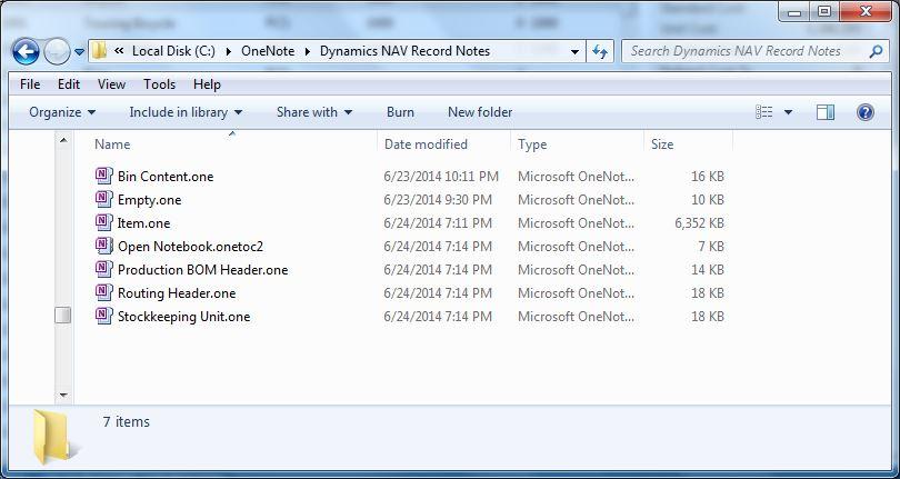 Dynamics-NAV-Record-Notes-Files