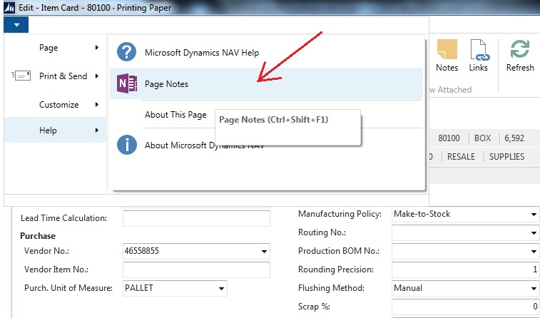 Microsoft OneNote Integration with Dynamics NAV - Microsoft Dynamics