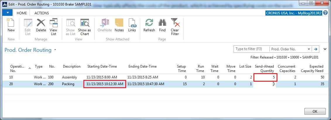 Run-Time-Routing-Send-Ahead-Quantity-Dynamics-NAV