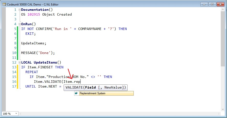 Intellisense-example-4-CAL-Editor-Dynamics-NAV-2016