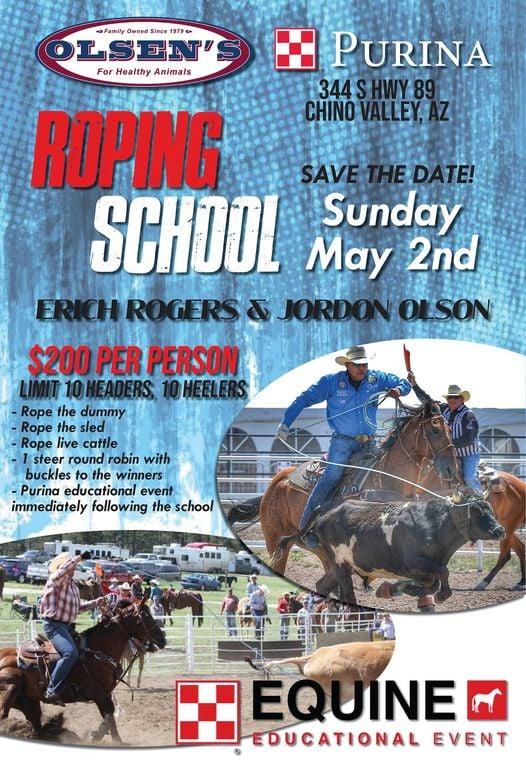 roping school