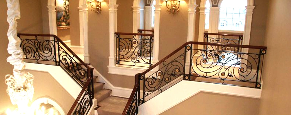 Iron Stair Rails Las Vegas Wrought Iron Stair Railing Las Vegas | Iron Stair Railing Cost | Wrought Iron Balusters | Deck | Stair Parts | Banister | Stair Treads