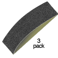 "1-1/2"" wide Sanding Bands 3-packs"