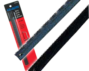 Mini Hack Saw Blades 3-packs