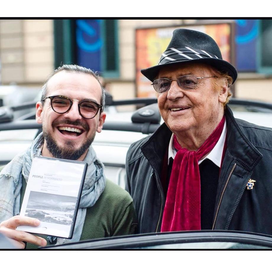 Luigi Scagglione e Renzo Arbore