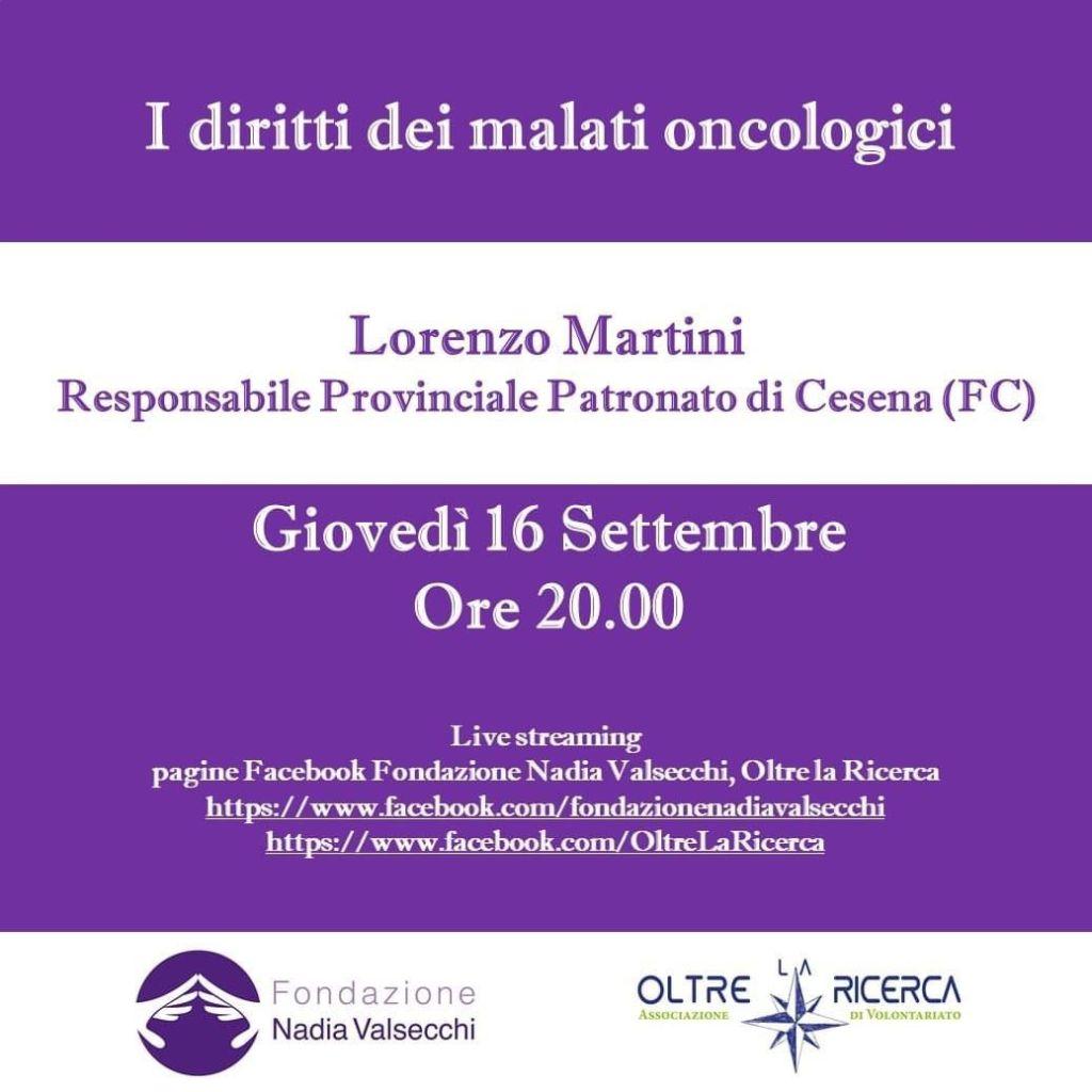 I diritti dei malati oncologici