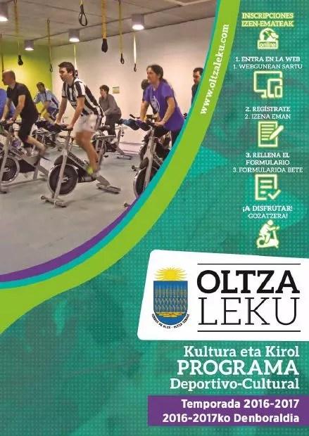 Portada programa Oltzaleku 2016-17