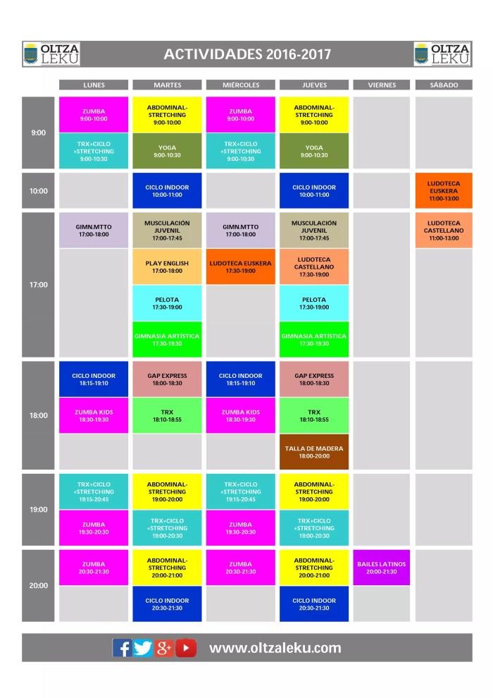 cronograma-actvidades-oltzaleku-2016-17